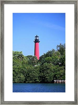 Jupiter Lighthouse Framed Print