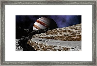 Jupiter Rise Framed Print