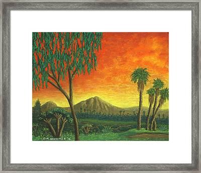 Jurassic Park Blvd 01 Framed Print