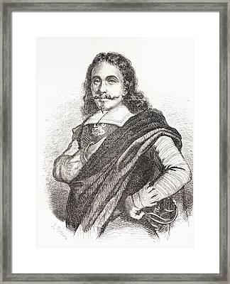 Jusepe De Ribera, Or Josep De Ribera Framed Print by Vintage Design Pics