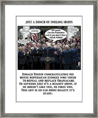 Just A Bunch Framed Print