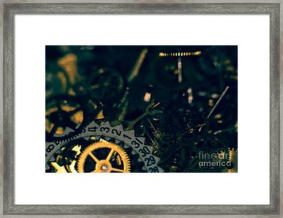Just A Cog In The Machine 1 Framed Print