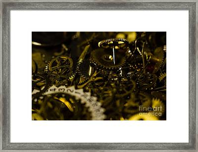 Just A Cog In The Machine 2 Framed Print