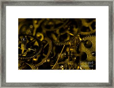 Just A Cog In The Machine 3 Framed Print