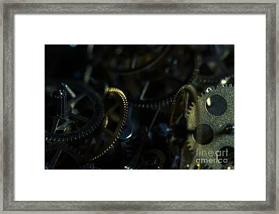 Just A Cog In The Machine 4 Framed Print