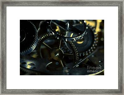 Just A Cog In The Machine 5 Framed Print