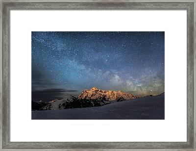 Just A Glance Framed Print by Britten Adams