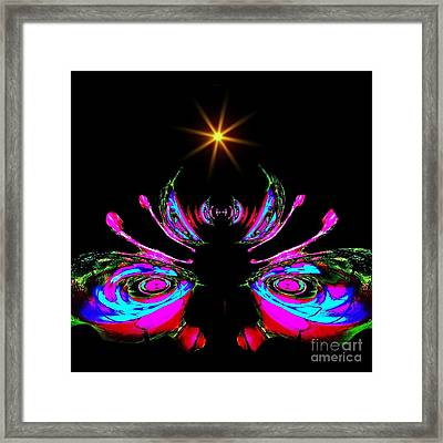 Just A Little Bit Abstract Framed Print by Blair Stuart