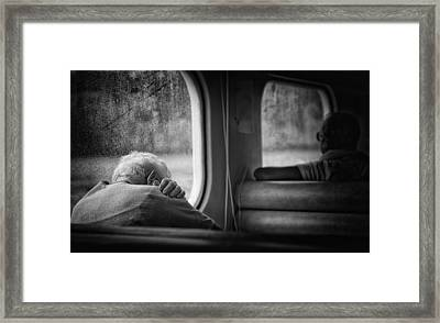 Just A Little Bit Tired Framed Print by Vito Guarino