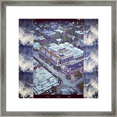 Just A Pic Of The Highline Bar In Framed Print