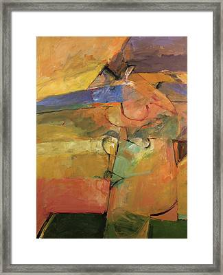 Framed Print featuring the painting Just A Pose by Cliff Spohn