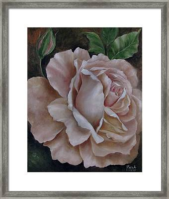 Just A Rose Framed Print