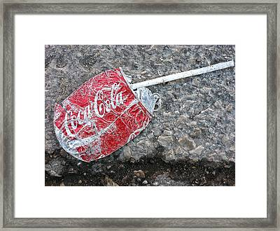 Just A Sip Framed Print by Jame Hayes