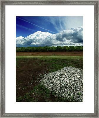 Just A Stone Throw Away Framed Print by Peter Piatt