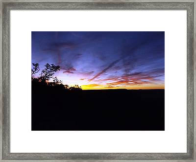 Just A Touch More Blue Framed Print by Adam Cornelison