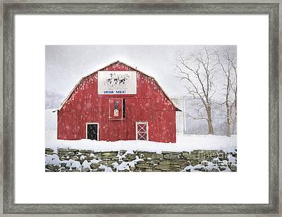 Just Add Cookies Framed Print