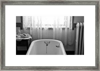 Just Add Water Framed Print by Wilma  Birdwell