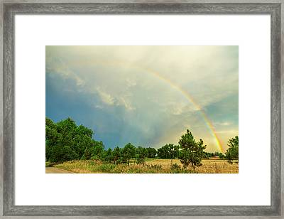 Just Another Colorado Rainbow Framed Print by James BO Insogna
