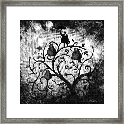 Framed Print featuring the digital art Just Another Day At Work by Delight Worthyn