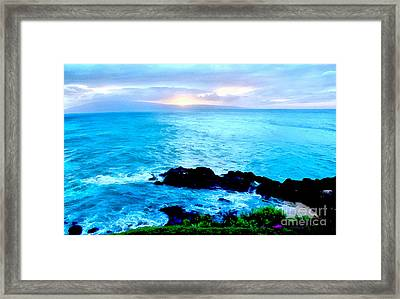 Just Another Day In Paradise Framed Print by Krissy Katsimbras