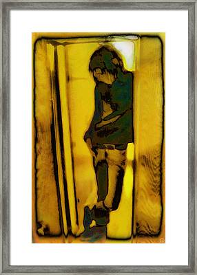 Just Another Day In School Framed Print by Gun Legler