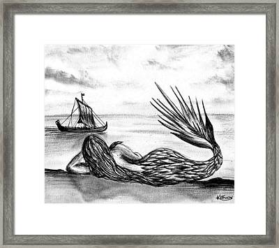 Just Another Day  Framed Print