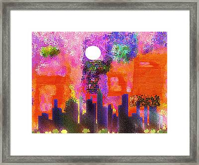 Just Another Day Framed Print by Mimo Krouzian