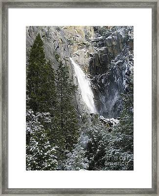 Just Another Morning In Yosemite Framed Print by Stan and Anne Foster