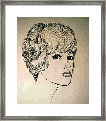 Just Another Pretty Face Framed Print by Brian Wallace