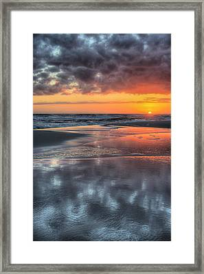 Just Another South Baldwin Sunset Framed Print