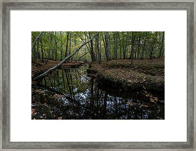 Framed Print featuring the photograph Just Around The Bend by Andrew Pacheco