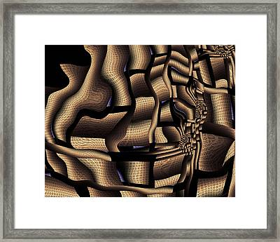 Just Around The Corner Framed Print by Vic Eberly