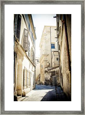 Framed Print featuring the photograph Just Around The Curve... by Jason Smith