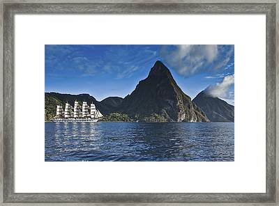 Just As Big Framed Print by Jon Glaser