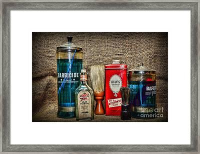 Just Barber Stuff Framed Print by Paul Ward