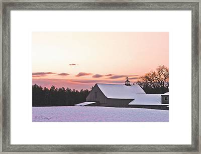 Just Before Christmas Framed Print by M S McKenzie