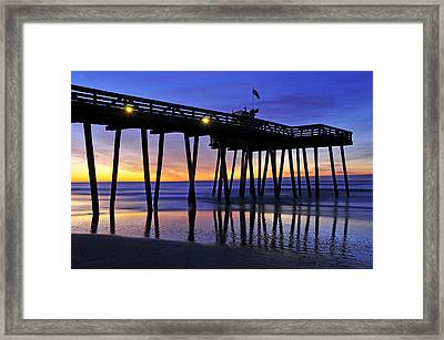 Just Before Dawn Framed Print