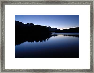 Just Before Dawn Framed Print by Larry Ricker