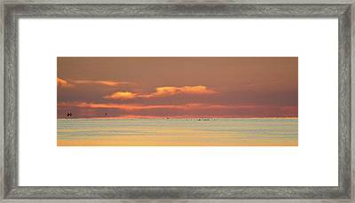 Just Before Sunrise 2  Framed Print