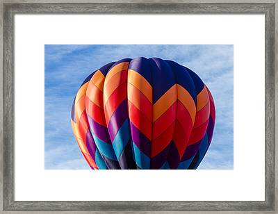 Just Before Take Off Framed Print by Teri Virbickis