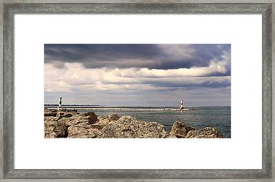 Just Before The Storm Framed Print by Milena Ilieva