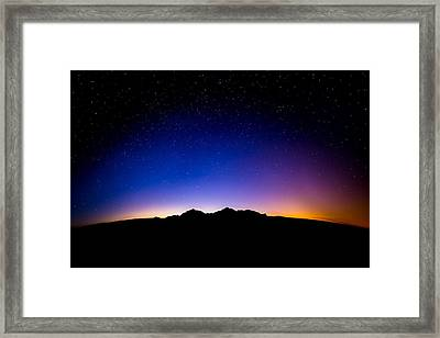 Just Before The Sun Rises Framed Print by Blake Westmoreland