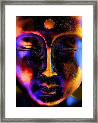 Just Breathe Framed Print