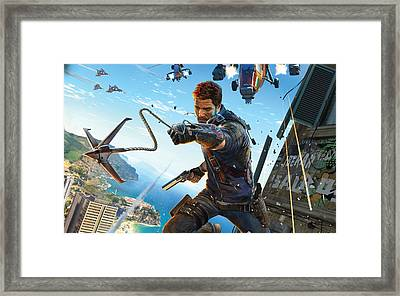 Just Cause 3 Framed Print by F S
