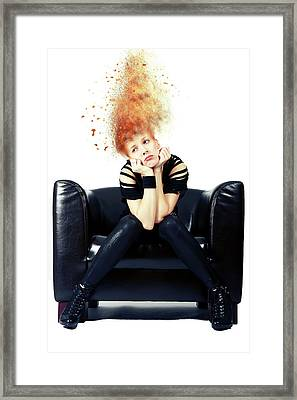 Just Chillin Framed Print by Nichola Denny