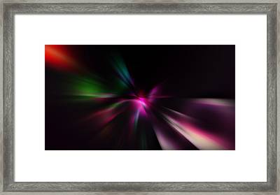 Just Color Framed Print