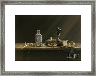 Just Common Things Framed Print by Barbara Groff