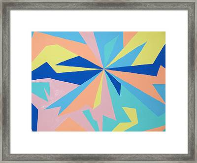 Just Crazy Framed Print