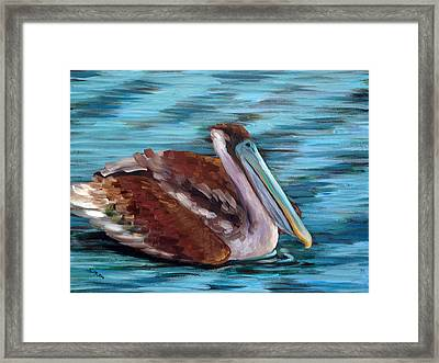 Just Cruisin Framed Print by Suzanne McKee