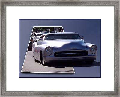 Just Cruising Framed Print by Thomas Woolworth